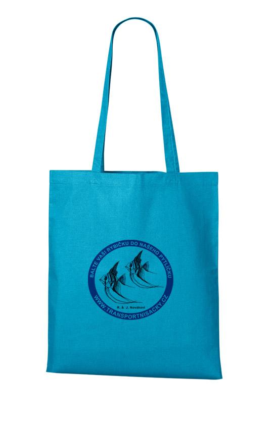 Nákupní taška tyrkysová