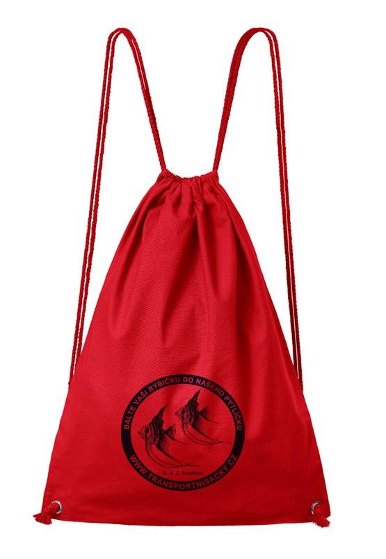 Batoh na záda červený