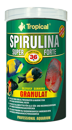 Tropical Spirulina forte granulat 3kg
